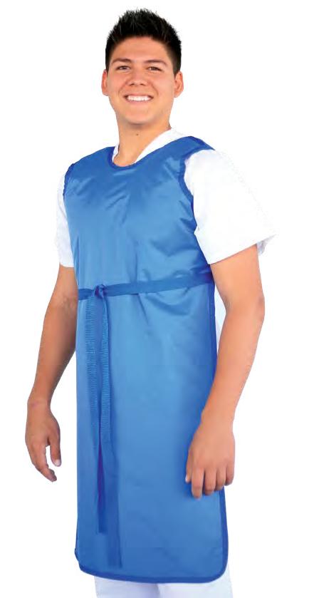 shielding frontal apron