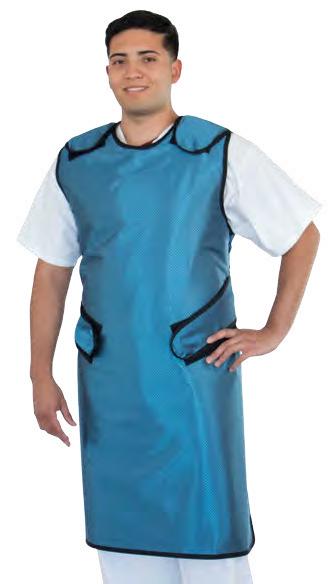 shielding three quarter apron