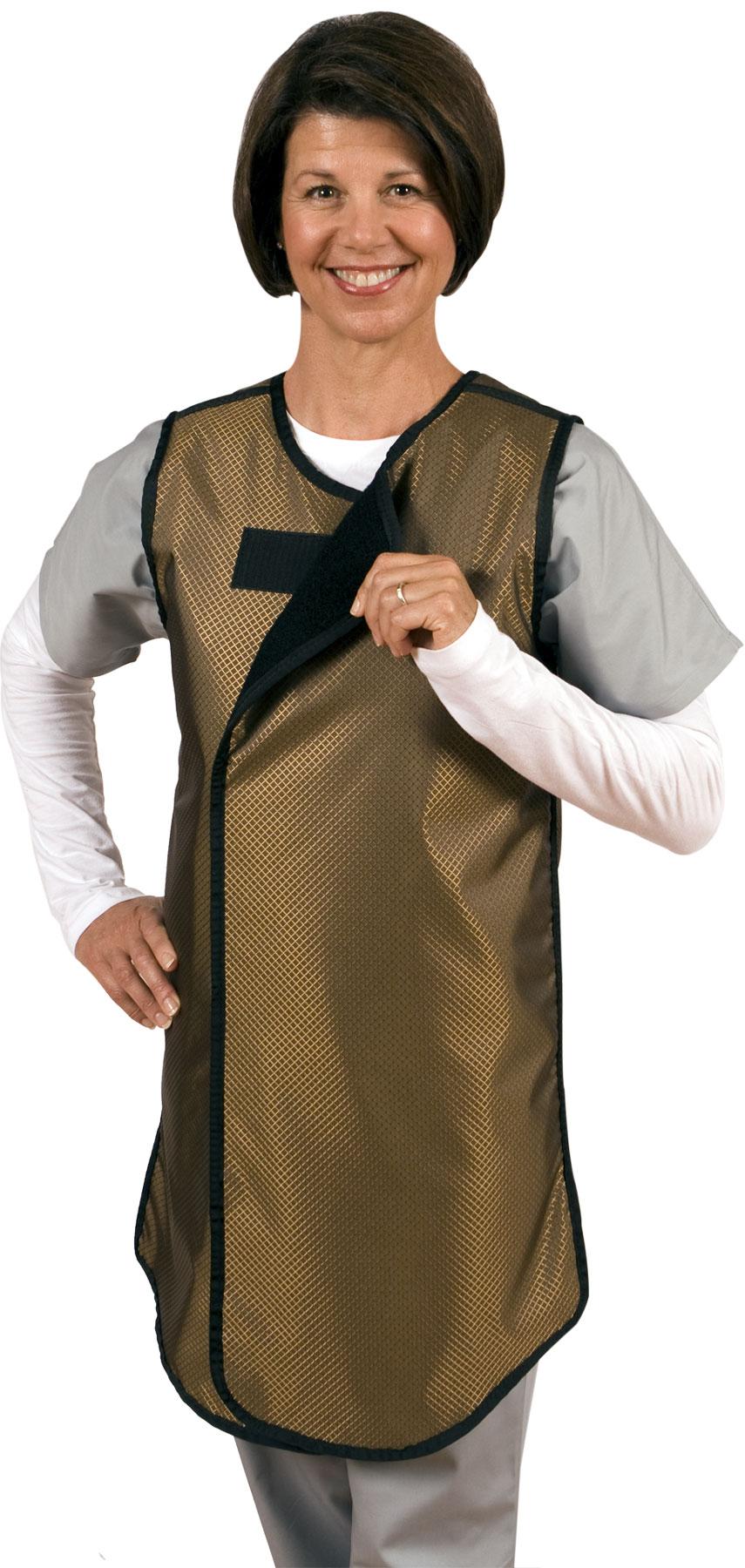 shielding wrap around apron